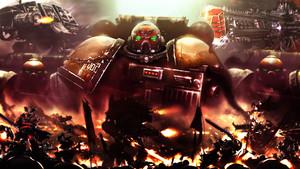 Warhammer 40K kertas dinding Legiones Astartes