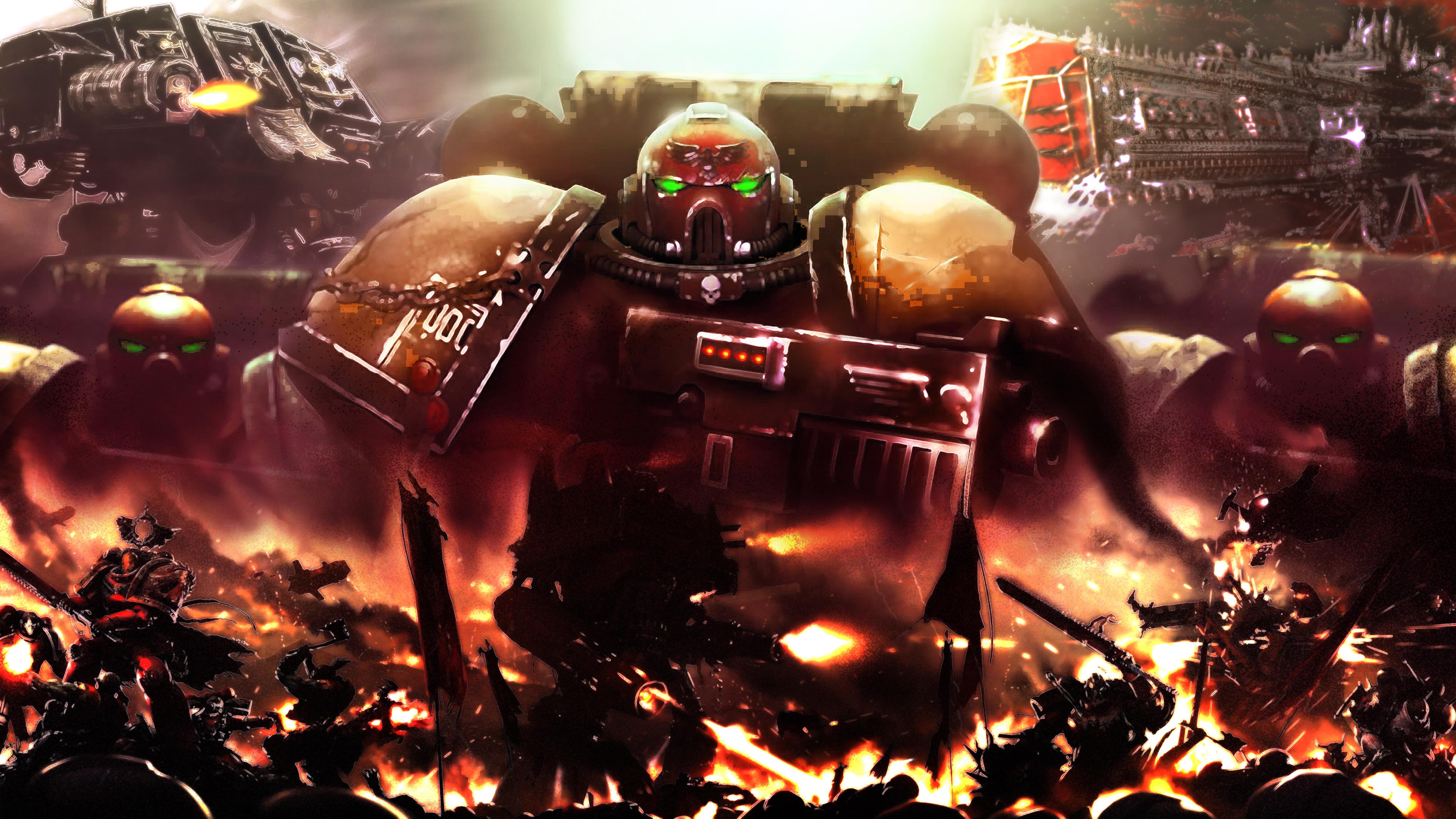 Warhammer 40K wolpeyper Legiones Astartes