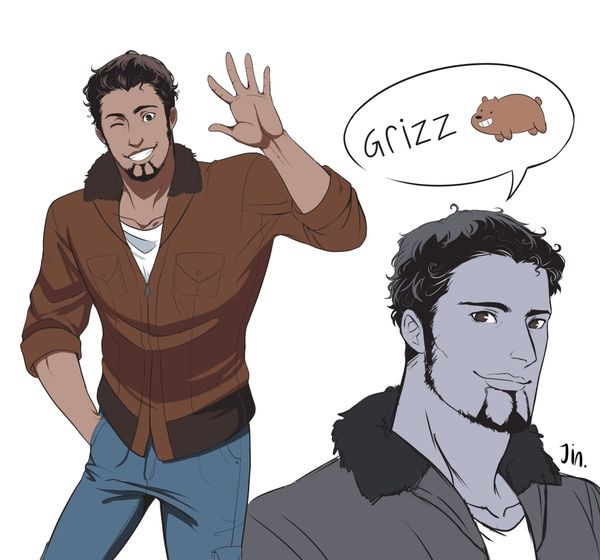 We Bare Bears' Grizzly ( Human Form )