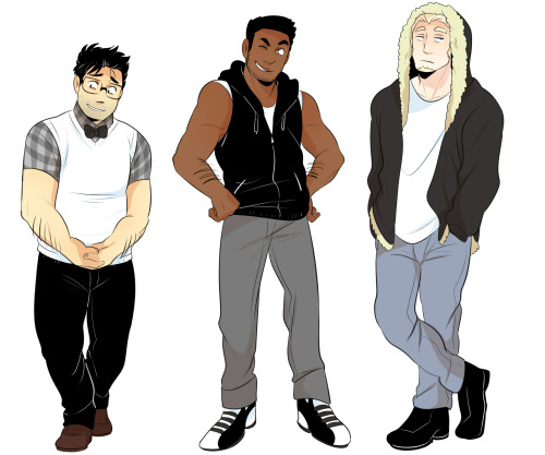 We Bare Bears humanised