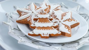 White gingerbread