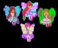 Winx Butterflix Chibi