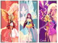Winx 次 Gen: Arianna, Lyric, and Celeste's Enchantix