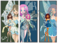 Winx Next Gen: Faith, Mayara, and Melia's Enchantix - the-winx-club fan art