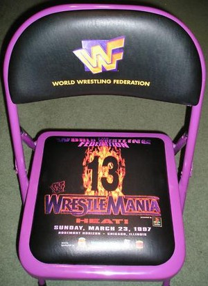 Wrestlemania 13 Chair