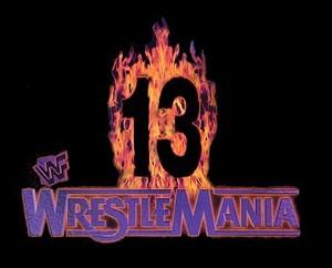 Wrestlemania 13 Logo 1