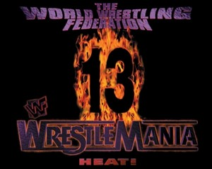 Wrestlemania 13 Logo 4