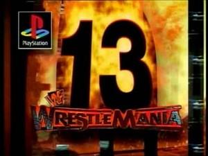 Wrestlemania 13 Logo 5