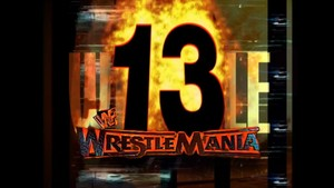 Wrestlemania 13 Logo Large