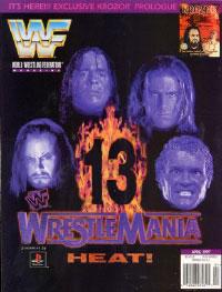 Wrestlemania 13 Magazie Cover