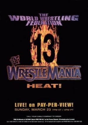 Wrestlemania 13 Poster Large