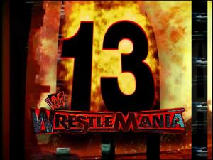 Wrestlemania 13 karatasi la kupamba ukuta 2