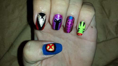 X Men Bilder X Men Nail Art Pt 26 Hintergrund And Background Fotos