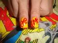 X-men Nail art pt. 31 - x-men fan art