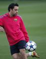 Xavi Hernandez - soccer photo
