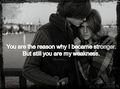 You are My Weakness - quotes fan art