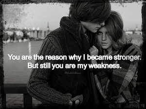 आप are My Weakness