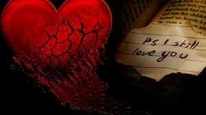 a love hart-, hart achtergrond 3