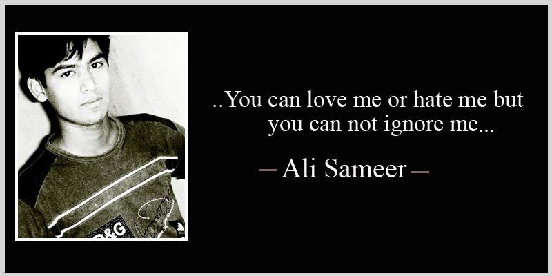 ali sameer love quotes, ali sameer sad quotes, ali sameer ...