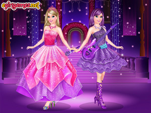 Barbie princess vs popstar