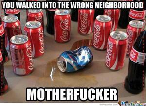可乐 vs pepsi