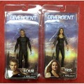 divergent 7 inch 17cm action figure set of 2 - divergent photo