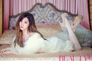 girls generation tiffany beauty magazine december 2015 các bức ảnh 2
