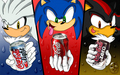 hedgehogs likes coke - coke fan art