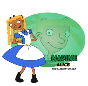 こんにちは princess-nadine as alice