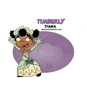 salut princess-timberly as tiana