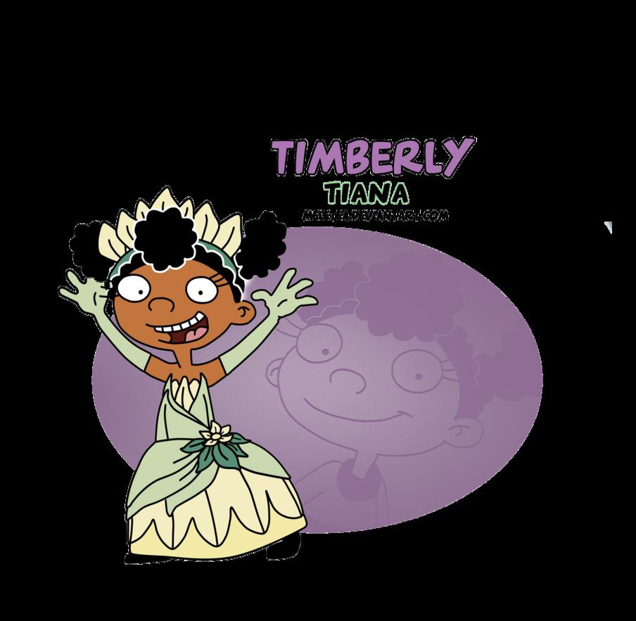 हे princess-timberly as tiana
