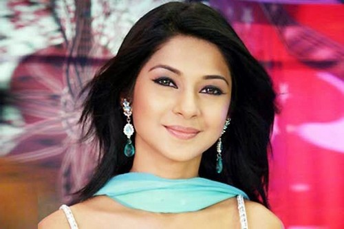 Saraswatichandra (TV series) karatasi la kupamba ukuta with attractiveness and a portrait titled homewrecker Jennifer Winget
