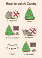 how to catch santa - pusheen-the-cat photo