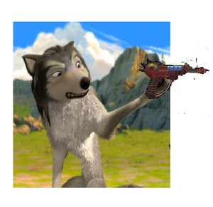 humphrey and the রশ্মি gun