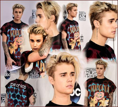 Justin Bieber wallpaper titled justin bieber,American Music Awards,2015