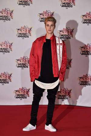 justin bieber NRJ musik Awards in Cannes, France
