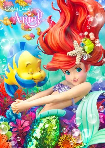 डिज़्नी प्रिन्सेस वॉलपेपर probably with ऐनीमे called the Little Mermaid - Ariel