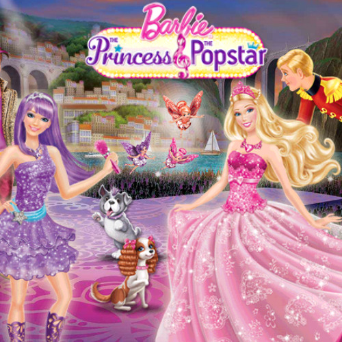 Barbie the Princess and the popstar wallpaper possibly containing a bridesmaid, a bouquet, and a dinner dress entitled torie