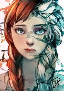 *Anna and Elsa*