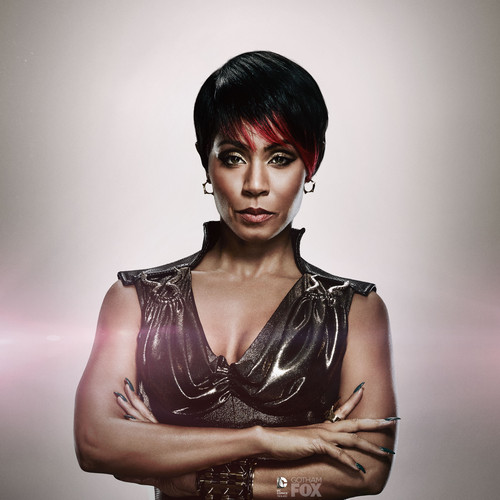 Gotham wallpaper possibly with a cocktail dress, a bustier, and attractiveness entitled   Fish Mooney