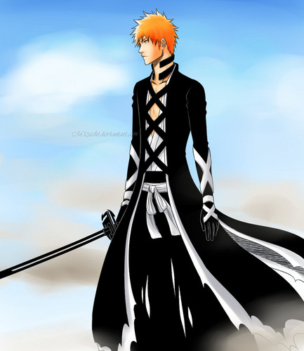 animé Bleach fond d'écran entitled Ichigo