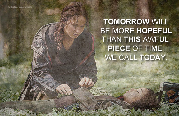 inspirational quotes the hunger games fan art 39168172