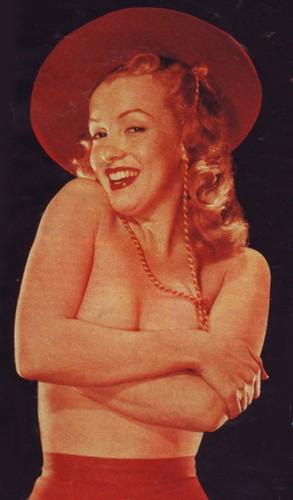 marilyn monroe fondo de pantalla with a fedora called Marylin