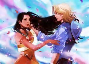 *Pocahontas and John*