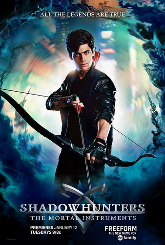 Alec & Magnus 壁紙 entitled 'Shadowhunters' Season 1 posters