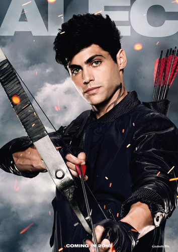 Alec & Magnus Обои entitled 'Shadowhunters' Season 1 posters