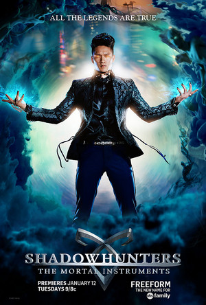 'Shadowhunters' Season 1 posters