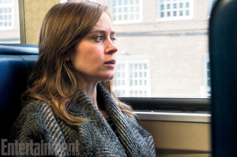 """The Girl On The Train"" Movie Promotional Picture"