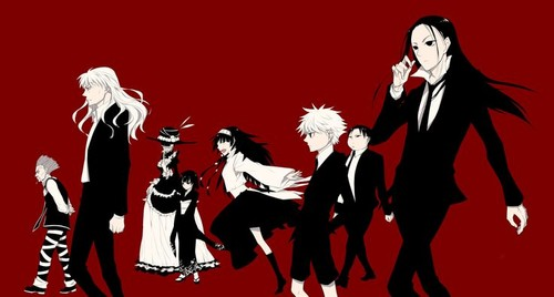 hunter x hunter wallpaper probably with animê titled The Zoldyck Family
