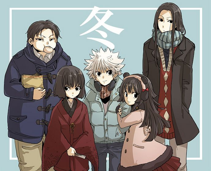The Zoldyck Family